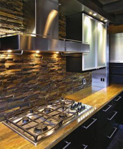 Rock Backsplash Kitchen Key Kitchen Trends 2016