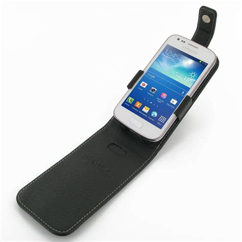 Flipcover Wallet Samsung Ace 3 samsung galaxy ace 3 leather flip top pdair wallet sleeve pouch