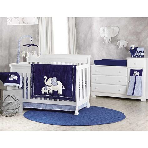 baby elephant crib bedding elephant baby boy crib bedding set all modern home