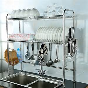 27 nex 174 dish rack 2 tier slot stainless steel
