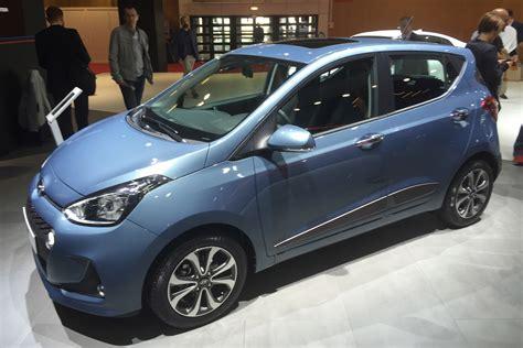 hyundai i10 new 2017 hyundai i10 facelift to start from 163 9 250 auto