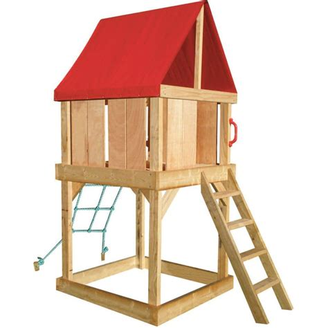Diy Elevated Cubby House Plans House Best Art Elevated Cubby House Plans