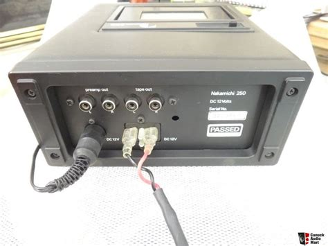 Audio Mobil Nakamichi Stereo Sound Quality Audiomobilbsd nakamichi 250 a classic portable high quality mobile