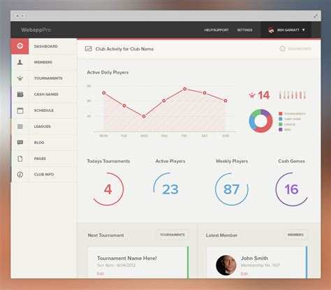 Home Design App On Love It Or List It by Dashboard Design Best User Dashboard Ui Examples