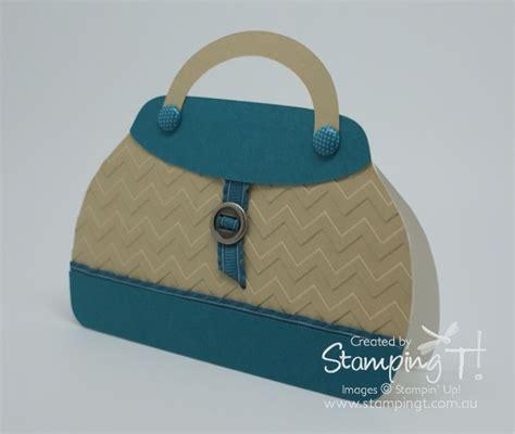 Handbag Templates For Cards by Stin Up Sting T Stylish Handbag Card Embossed