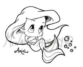 Baby ariel coloring pages aorgtk