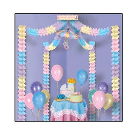 Baby Shower Decoration Kits by Pink Blue Baby Shower Decorating Kit For Baby Shower Baby Shower Accessories The