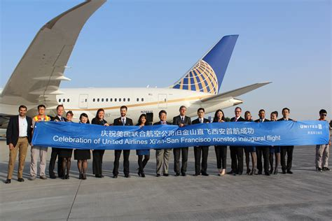 united airlines help experiencing united s first nonstop flight from san