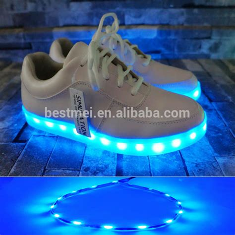 light up shoes charger colorful light up usb charger shoes for adults buy light