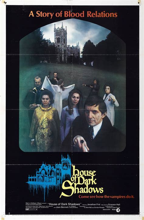 house of shadows movie poster for house of dark shadows 1970 usa wrong side of the art