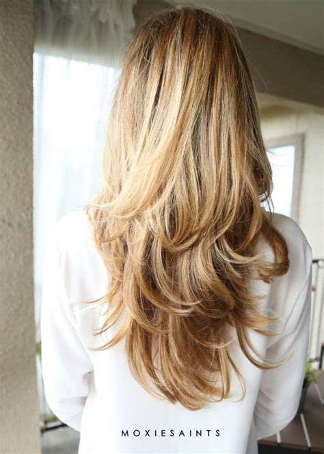 tri colored hair layer long layers sombre with faded ombre perfect long layered