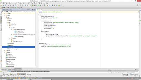 android studio bundle tutorial pdf setup android studio and debenu quick pdf library foxit