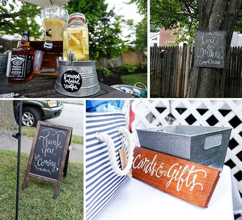 backyard bbq engagement party 17 best images about wedding engagement party on