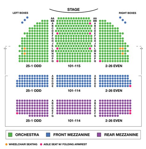 ethel barrymore theatre seating chart ethel barrymore