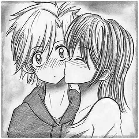 Imagenes A Lapiz De Amor Anime | dibujos de amor de parejas anime a l 225 piz archivos