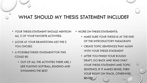 a thesis statement should include what a thesis statement should include 28 images i