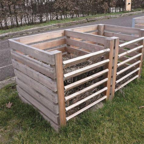komposter aus holz selber bauen die 25 besten ideen zu komposter auf