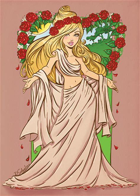 goddess aphrodite cartoon aphrodite by dsoloud on deviantart