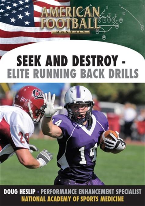 Search And Destroy Book Report by Search And Destroy Elite Running Back Drills Coach And Athletic Director