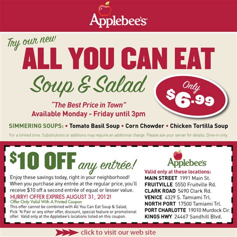 Applebees Sweepstakes - coupons for applebees gordmans coupon code