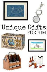 unusual birthday gifts for him uk