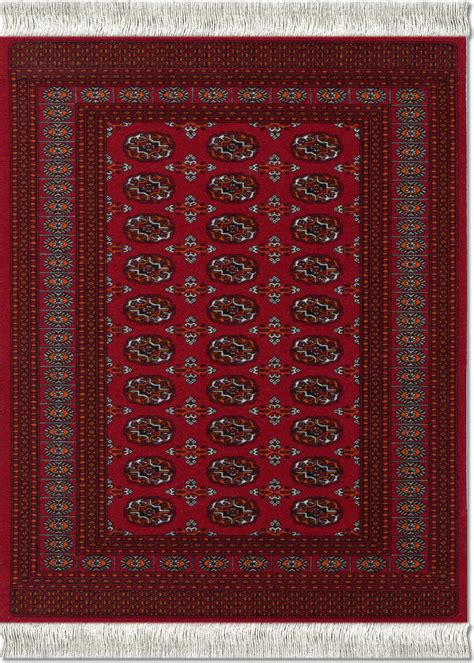 Turkoman Rugs by Turkoman Bokhara Mouserug 174 Mouserug