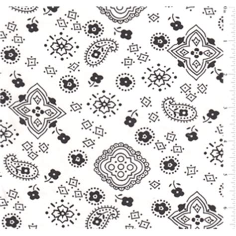 white bandana print bolt fp0601 c1 fashion fabrics