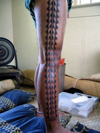 hand tapped tattoo ta tatau keones nunes hawaiian and