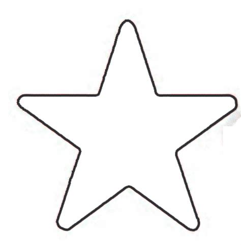 small star template cliparts co