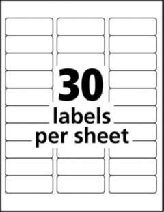 Avery 5 8in Clear Address Labels Target Q Connect Labels 8 Per Sheet Template