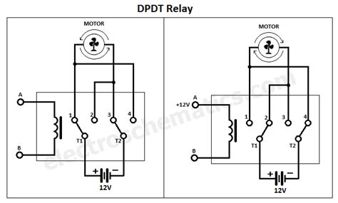 dpdt relay pole throw