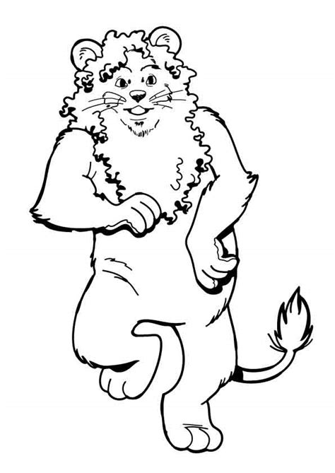 wizard of oz coloring pages lion oz games colouring in oz funland