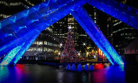 vancouver christmas tree lighting at jack poole plaza 2015