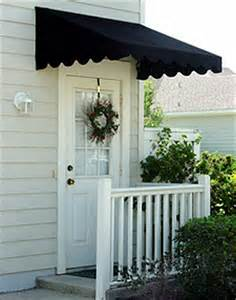 door awnings door canopies sunbrella awning canvas