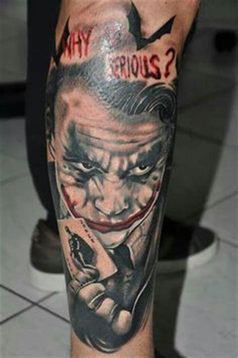 tattoo money joker dc jocker batman tattoo tatuajes bea creepy tattoos