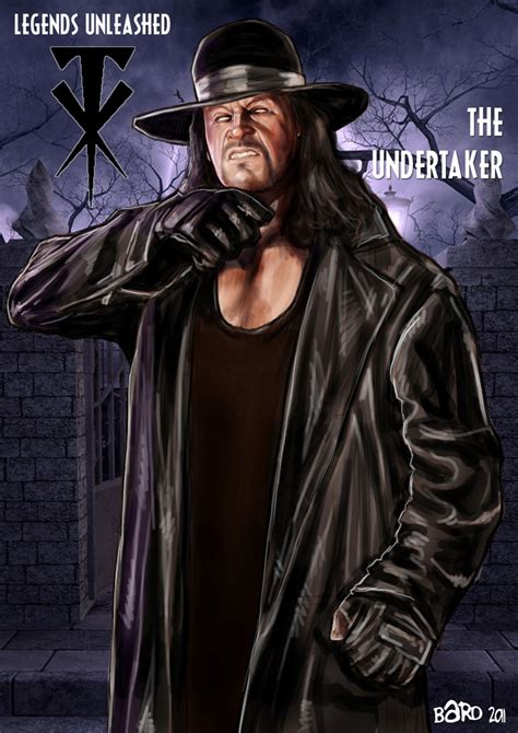 undertaker painting the undertaker unleashed by bardsville on deviantart