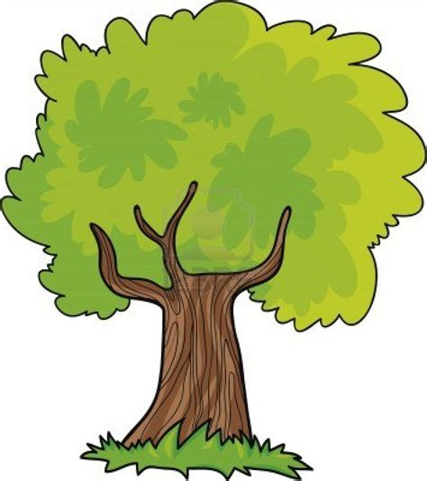 wallpaper cartoon tree tree cartoon clipart clipart suggest