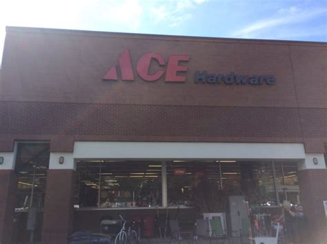 ace hardware gajah mada plaza front of store located in the millhopper shopping plaza yelp