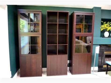 ikea bonde ikea bonde display cabinet brown with door