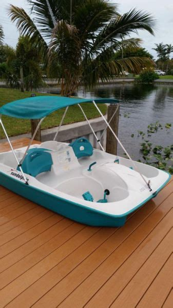 used sun dolphin paddle boat for sale pedal boat boats for sale