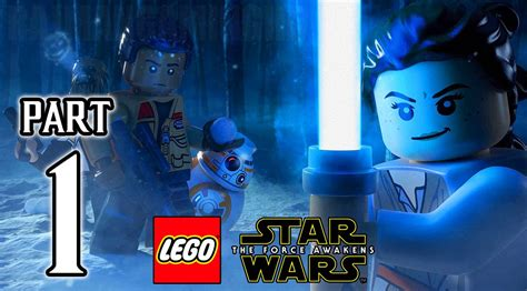 Ps4lego The Reg 1 lego wars the awakens walkthrough part 1 ps4 gameplay no commentary 1080p hd