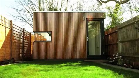 Contemporary Tiny Houses by Garden Office Pod Space Solution For Terraced South