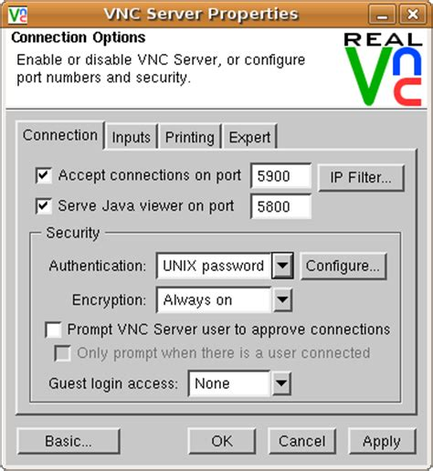 how to use vnc on aix colbran south africa invalid vnc server specified