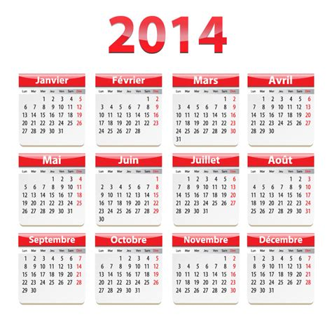2013 And 2014 Calendar Template