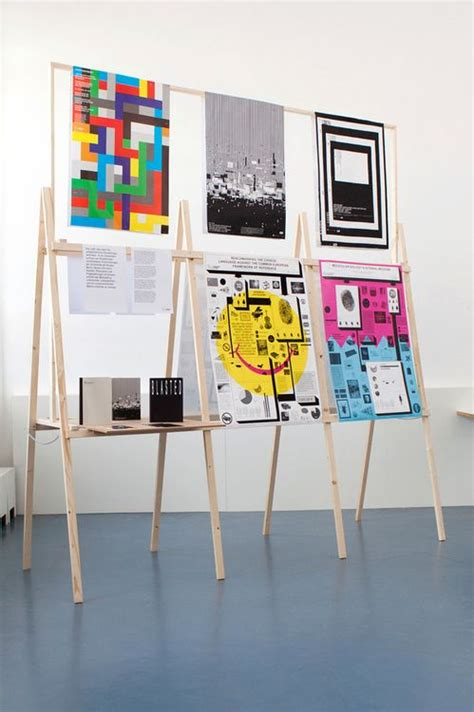 how to display art best 25 exhibition display ideas on pinterest