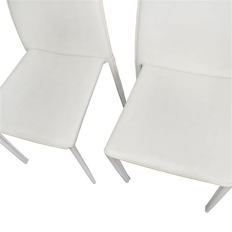 All Modern Chairs by 77 All Modern All Modern White Leather Dining