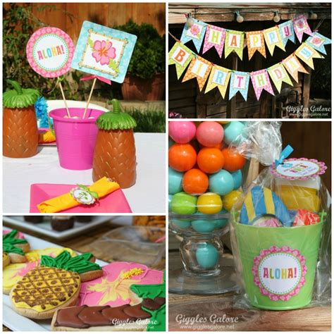 party themes luau luau birthday party
