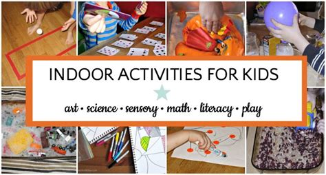 most popular things for kids giant list of indoor activities for kids
