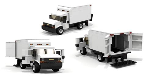 Lego Truck Can Change Car lego chevrolet express cargo truck
