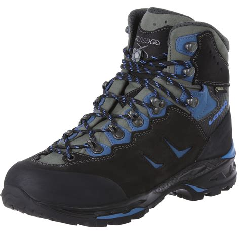 lowa camino lowa camino gtx trekking shoes black blue